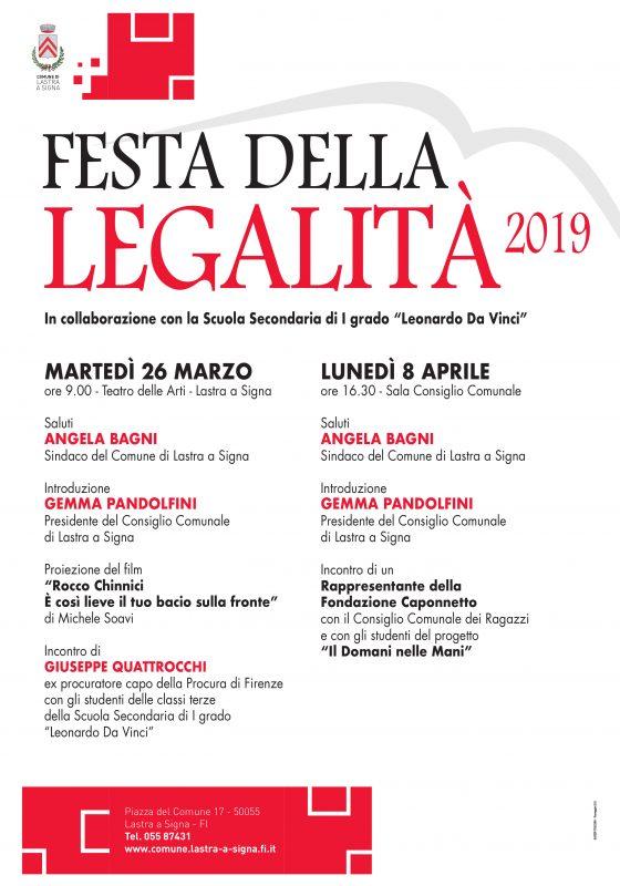 Lastra a Signa: Festa della legalità in ricordo vittime mafie
