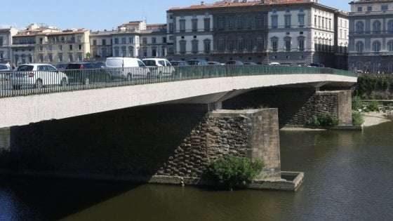 Firenze, domani Ponte Vespucci riaprirà ai pedoni