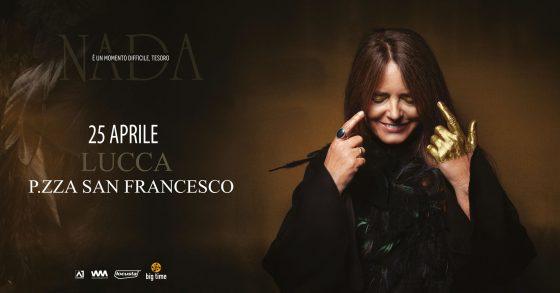 25 aprile con Nada in concerto a Lucca