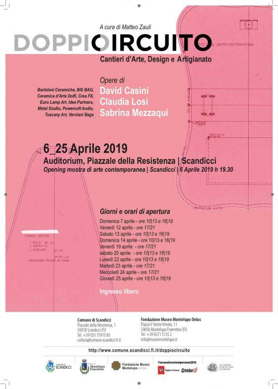 """""""Doppio Circuito, Cantieri d'Arte, Design e Artigianato"""" apre a Scandicci"""