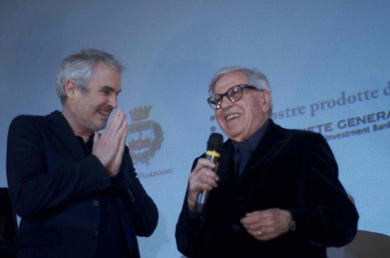 Paolo Taviani a Lucca Film Festival: il premio Oscar Alfonso Cuaron omaggia il maestro