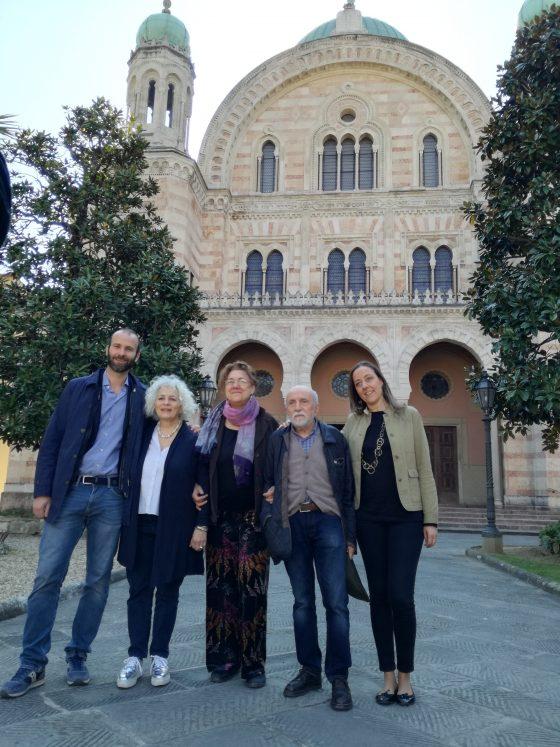 Pietre d'inciampo a Firenze con la Comunità ebraica