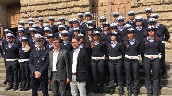 Presentati i nuovi 47 agenti Municipale