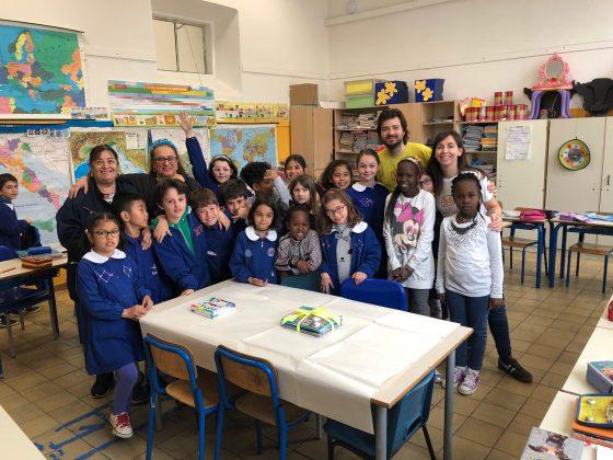 Dal Kenya a Firenze, alla scuola Collodi incotro tra amici di penna