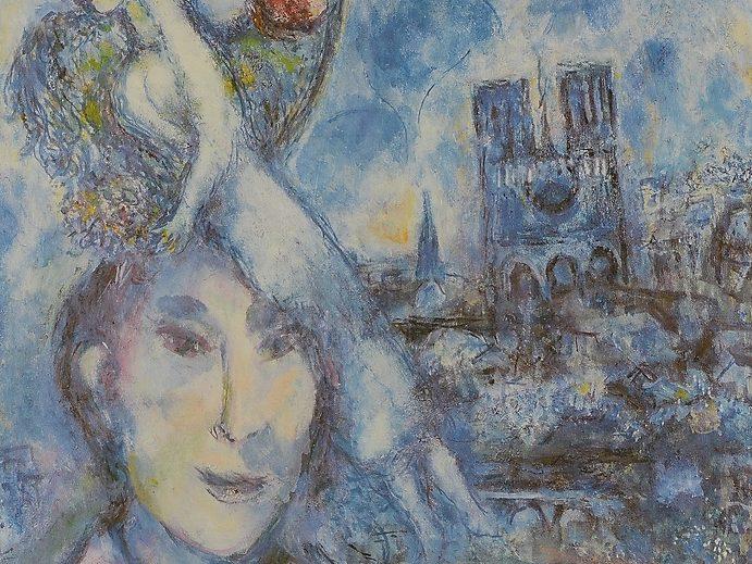 chagall autoritratto