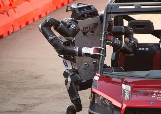 Mano robot soccorritore Nasa ha sensori italiani
