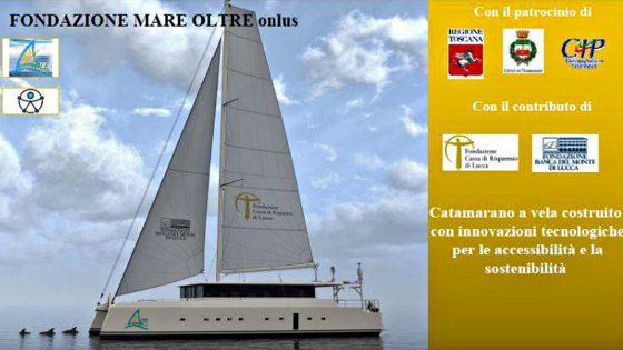 Inaugurato 'Elianto', catamarano senza barriere architettoniche