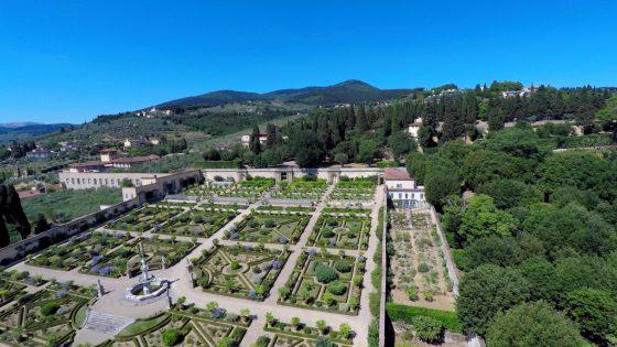 Giardino della Villa di Castello, da maggio visite gratuite