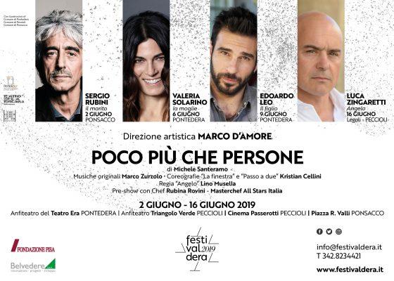 Solarino, Rubini, Leo e Zingaretti al Festivaldera 2019