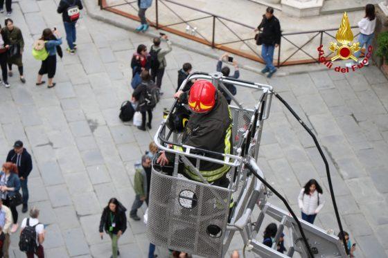 Gallerie Uffizi: esercitazione Vigili del Fuoco, evacuate 50 persone