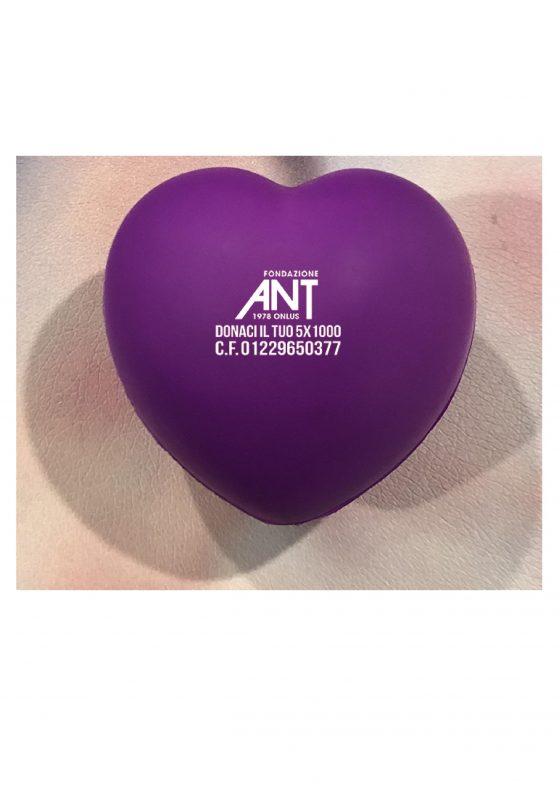 Fiorentina-Milan: un Cuore Viola a sostegno di ANT