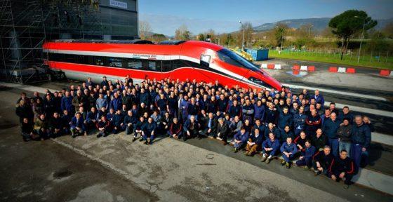 Pistoia, amianto: sciopero e corteo lavoratori Hitachy Rail Italy
