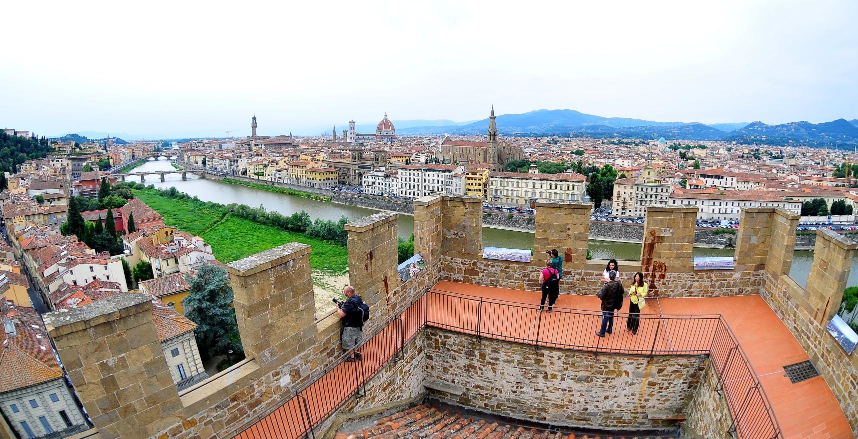 Firenze, Torre San Niccolò