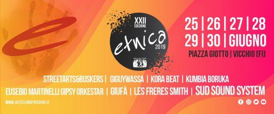 Una nuova edizione di Etnica! Sei giorni pieni di musica ed eventi a Vicchio.