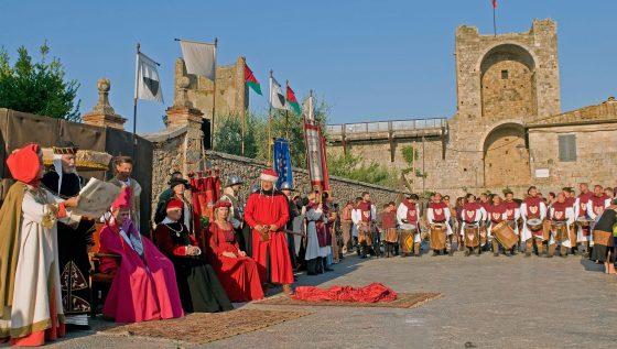 A Monteriggioni la XXIX edizione della Festa Medievale