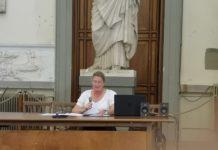 La direttrice della Galleria dell'Accademia di Firenze, Cecile Hollberg