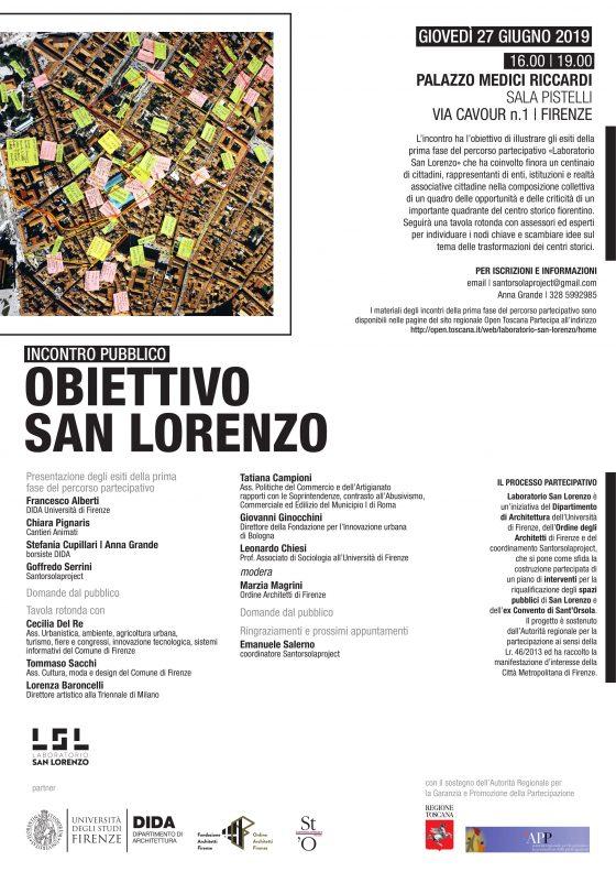 Obiettivo san Lorenzo