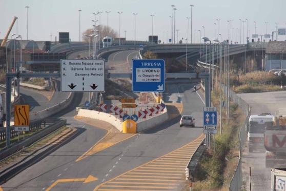 Fi-Pi-Li, a Livorno viabilità provvisoria dal 1° luglio
