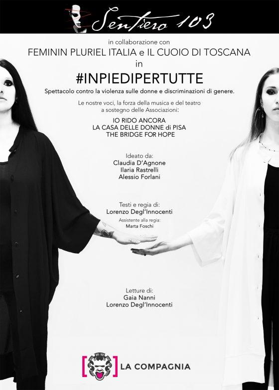 Sentiero 103 il progetto-evento #INPIEDIPERTUTTE al Cinema La Compagnia