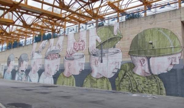 Street art 'sitiuzionale sotto attacco