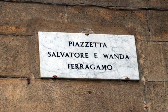 Innaugurata in centro a Firenze 'piazzetta Ferragamo'