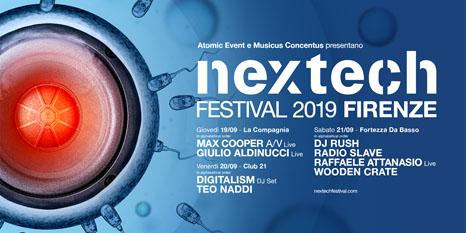 Svelato il programma completo della XIII edizione di Nextech festival