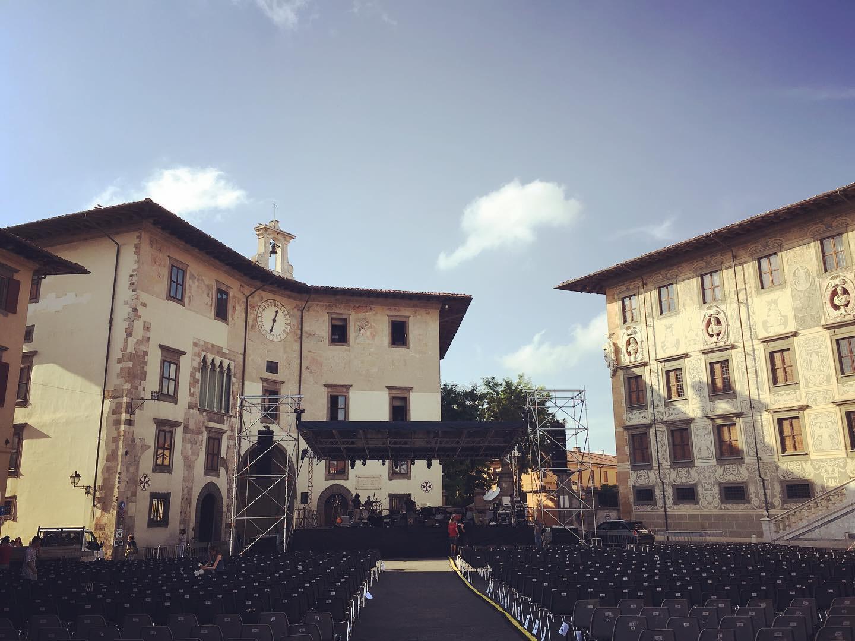 Piazza Cavalieri Pisa Festival Musica