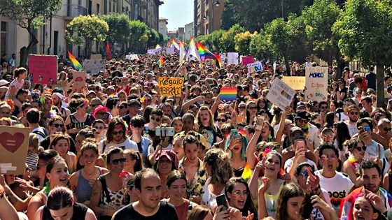 Toscana Pride, sfilano in Ventimila a Pisa