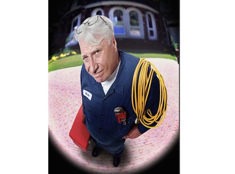 idraulico alla porta