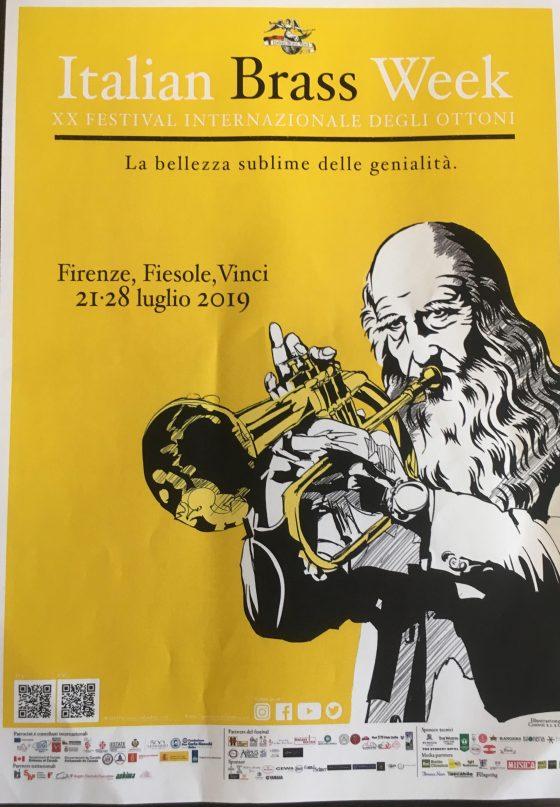 """Dal 21 al 28 luglio arriva la 20° edizione di """"Italian Brass Week"""""""
