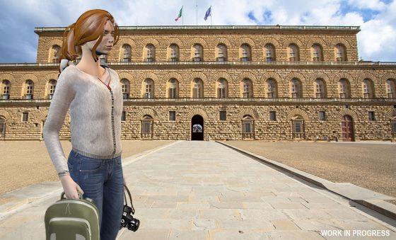 Musei: videogioco su Palazzo Pitti disponibile dal 30 ottobre