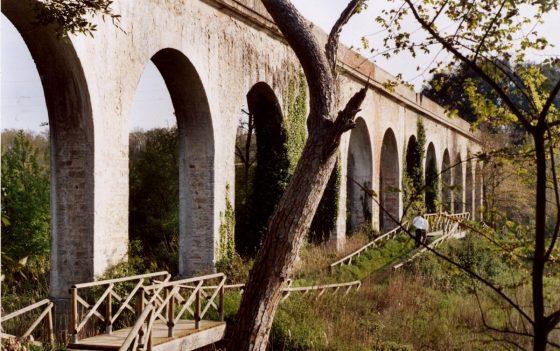 Passeggiata all' Acquedotto Leopoldino dei sindaci Livorno Collesalvetti