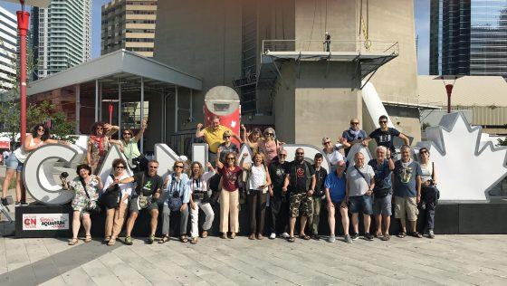 Grande successo per il primo viaggio in Canada del Controradio Club