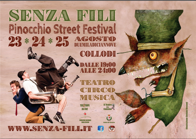 Collodi Pinocchio street