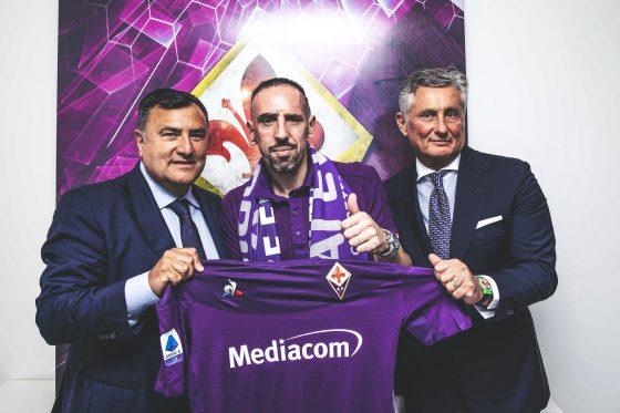 """Calcio, Fiorentina; Ribery è arrivato in città: """"Mi manda Toni"""""""