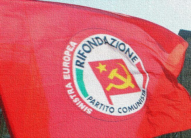 rifondazione comunicsta bandiera