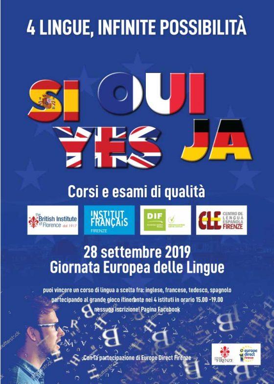 Giornata europea delle lingue, porte aperte negli istituti fiorentini