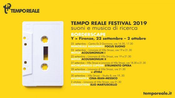 Tempo Reale Festival, sezione autunnale Y dal 22 settembre al 2 ottobre