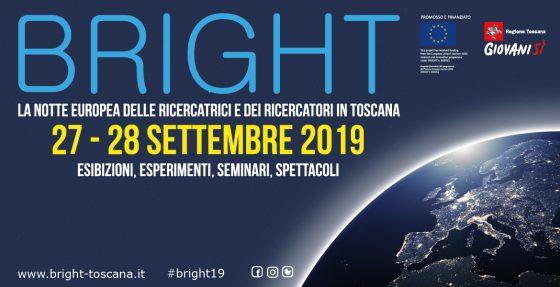 Torna Bright 2019: la Notte dei Ricercatori in Toscana