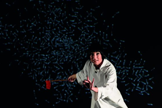 "Firenze Suona Contemporanea presenta ""The Guided Tour Of The Exhibition For Soprano And Handbag"""