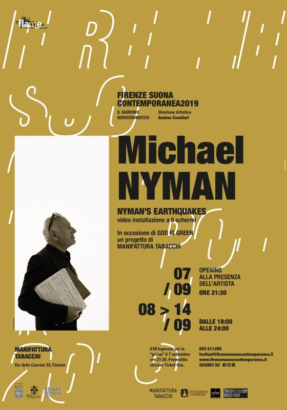 Nyman's Earthquakes per Firenze Suona Contemporanea2019