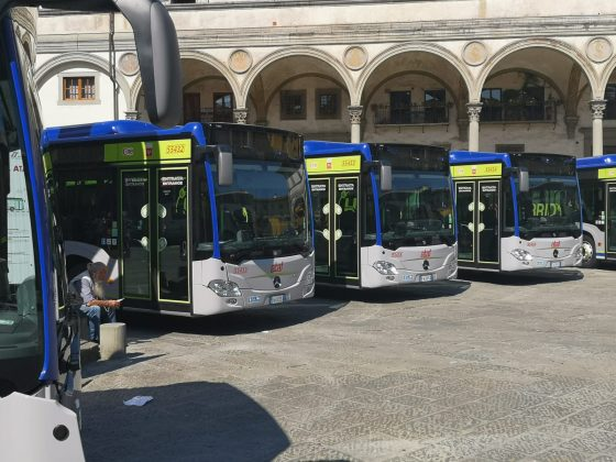 Presentati nuovi 12 autobus ibridi acquistati da Ataf Gestioni