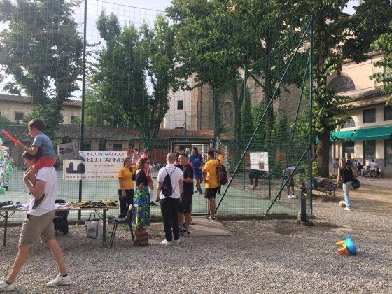 Calcio integrato in Oltrarno, con Leboswky al Giardino Nidiaci