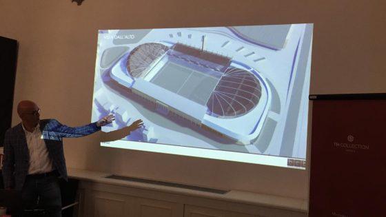 Uno stadio dentro lo stadio: presentato progetto che non abbatte le curve