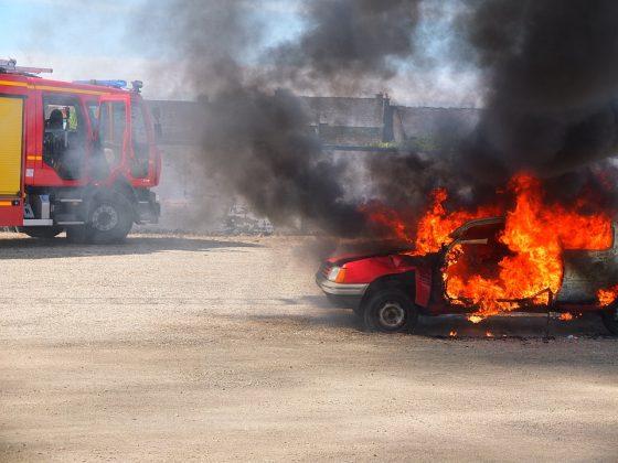 Incendi: 6 vetture a fuoco  a Firenze