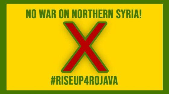Rise Up For Rojava oggi pomeriggio in piazza del Carmine a Firenze