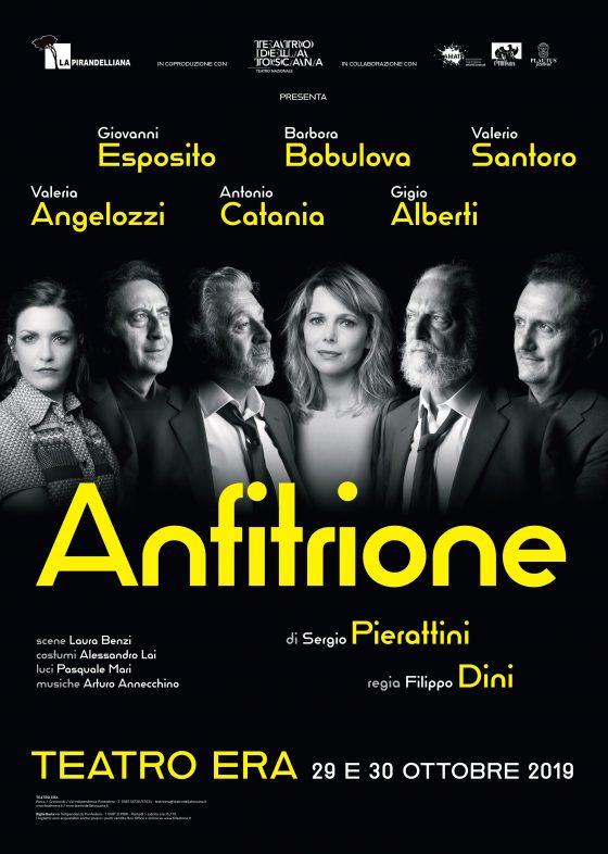"""Teatro Era, si inaugura la stagione con la prima nazionale di """"Anfitrione"""""""