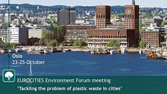 Firenze plastic-free, assessora Del Re a Oslo per firmare il patto