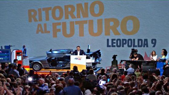 """Iv, Renzi: """"alla Leopolda straordinario popolo che fa politica"""""""