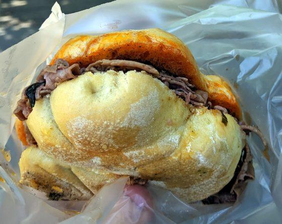 Firenze celebra lampredotto: panino da 70 kg